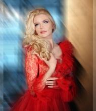 Анна Чурина в авторском фотопроекте Ольги Зиновской -Аксиома красоты