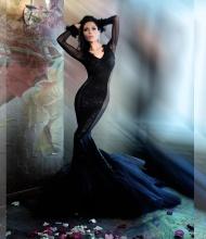 Полина Аскери в авторском фотопроекте Ольги Зиновской -Аксиома красоты